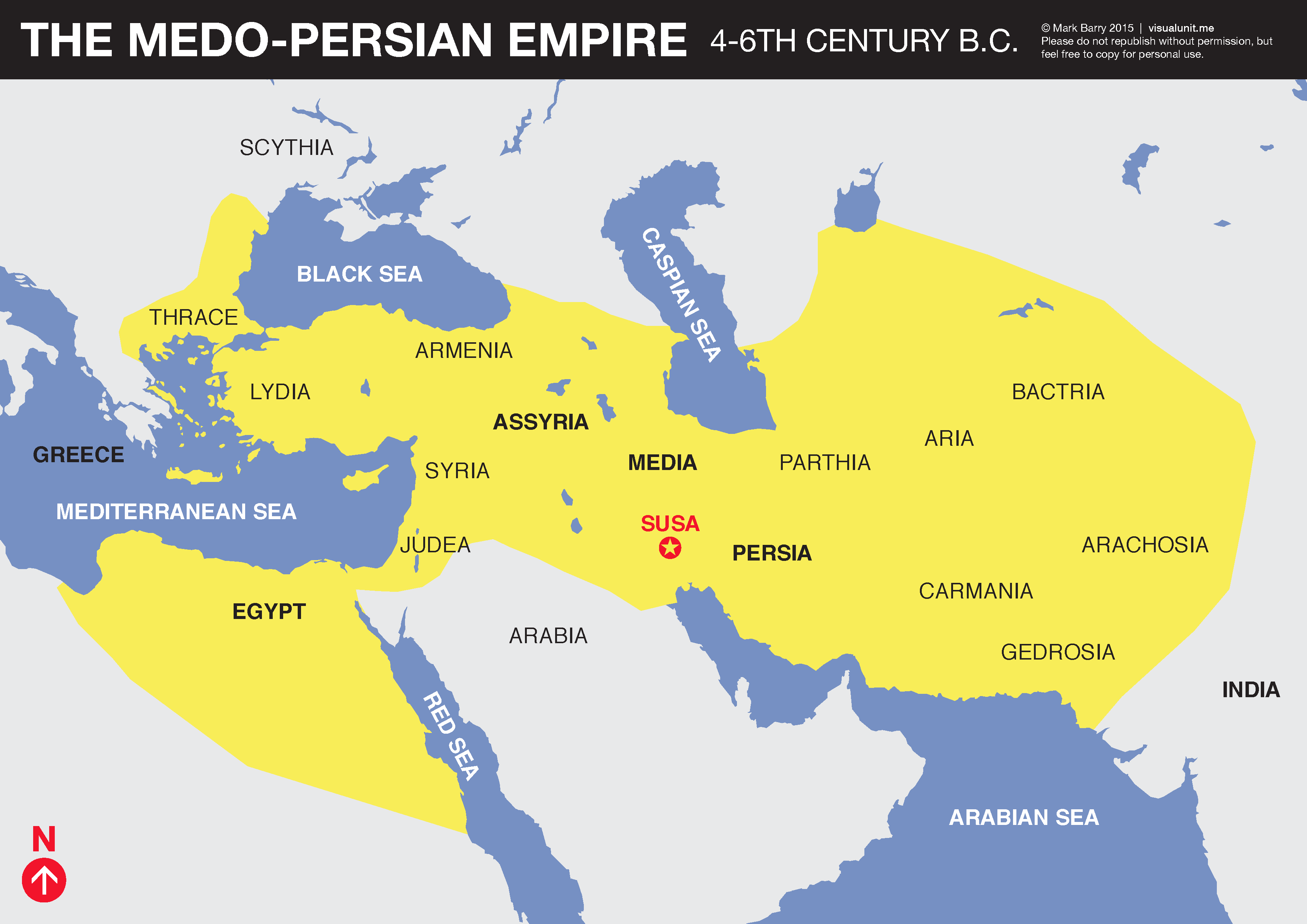 Medo-Persian Empire, 4th-6th Centuries BCE